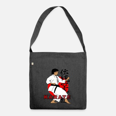 Tradition TRADITIONAL KARATE - Shoulder Bag made from recycled material