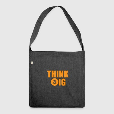 THINK B (ITCOIN) IG - Shoulder Bag made from recycled material