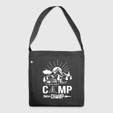 Camp Champ - Shoulder Bag made from recycled material