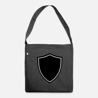 Shield shield - Schultertasche aus Recycling-Material