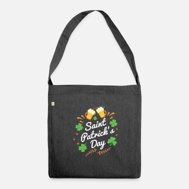Feast Day St. Patrick's Day feast - Shoulder Bag recycled