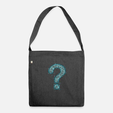 Question Mark Question - Question Mark - Knowledge - Gift - Shoulder Bag recycled