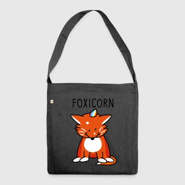 Foxicorn - Shoulder Bag made from recycled material