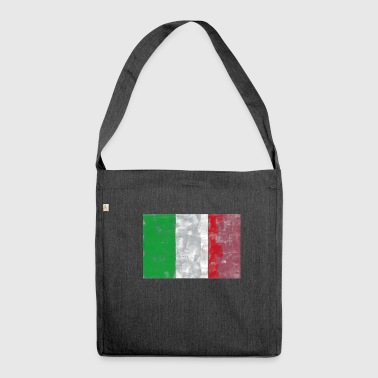 Italy flag Italian flag - Shoulder Bag made from recycled material