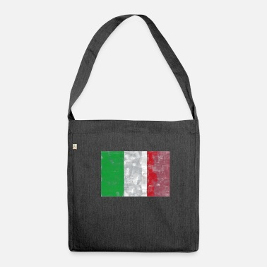 Italian Flag Italy flag Italian flag - Shoulder Bag made from recycled material