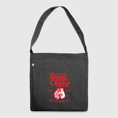 Boxing Champ - Shoulder Bag made from recycled material