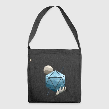 Dungeons & Dragons (ND) D20 acquerello - Borsa in materiale riciclato