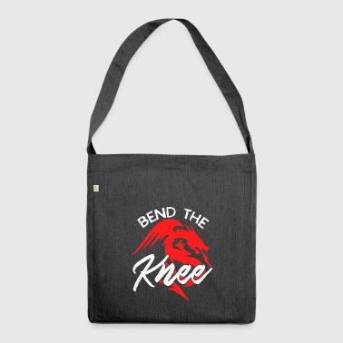 bend the knee - Shoulder Bag made from recycled material