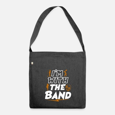 Band Con la band - Borsa in materiale riciclato