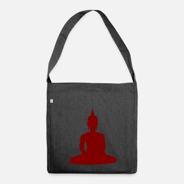 Buddhism Buddhism - Shoulder Bag made from recycled material
