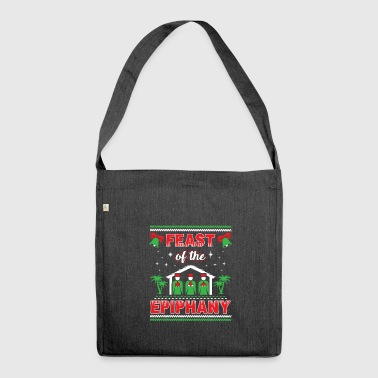 Feast of the Epiphany Three Kings Filipino Xmas - Shoulder Bag made from recycled material