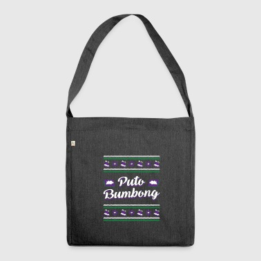 Puto Bumbong Filipino Xmas Delicacy Christmas - Shoulder Bag made from recycled material