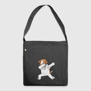 Jack Russell - Jack Russel Terrier - Schultertasche aus Recycling-Material