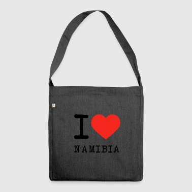 I love Namibia - Shoulder Bag made from recycled material