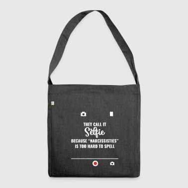 Irony - Sarcasm - Funny - Gift - Shoulder Bag made from recycled material