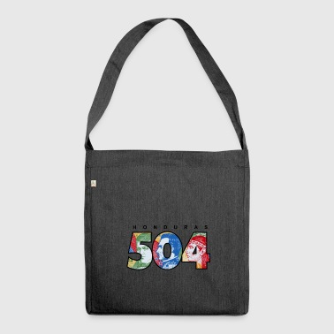 Honduras 504 - Shoulder Bag made from recycled material