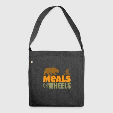 meals on wheels - Shoulder Bag made from recycled material