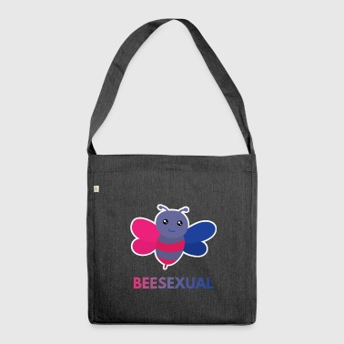 Beesexual - Bisexual T-Shirt - Gay Pride Gift - Shoulder Bag made from recycled material