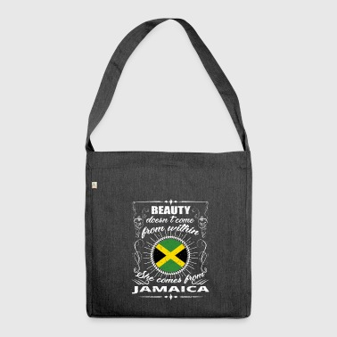 Jamaica beauty comes from JAMAICA png - Shoulder Bag made from recycled material