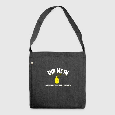 Dip Me In Honey And Feed To Me The Cougars GIft - Shoulder Bag made from recycled material