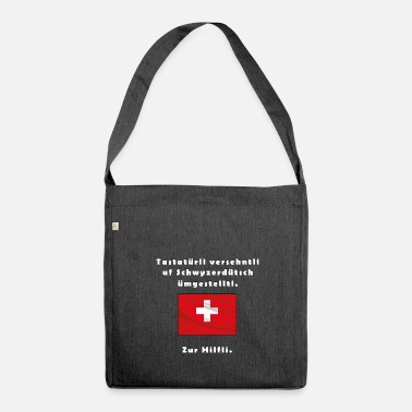 Swiss German Swiss German - Shoulder Bag made from recycled material