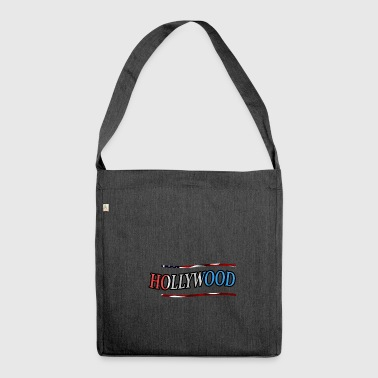 Hollywood Hollywood - Schultertasche aus Recycling-Material
