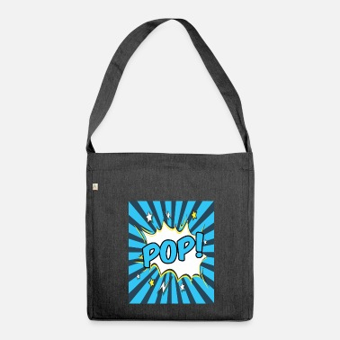 Pop Art Pop Art - Shoulder Bag made from recycled material