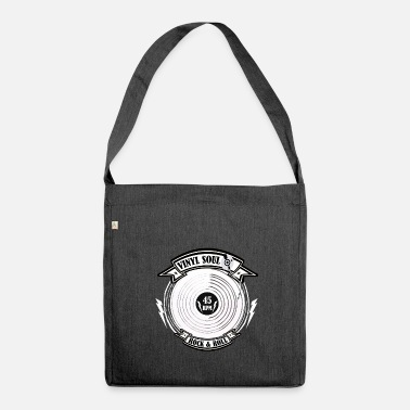 Northern Soul Vinyl soul - Shoulder Bag made from recycled material