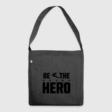 Be the hero Long jump - Be the hero in long jump - Shoulder Bag made from recycled material