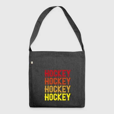 Hockey su hockey su hockey - Borsa in materiale riciclato