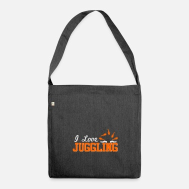 Juggling Juggle - Shoulder Bag made from recycled material