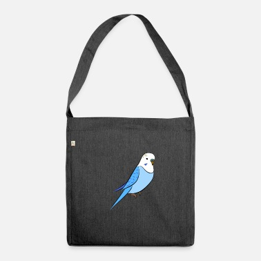 Budgie Budgie blue - Shoulder Bag made from recycled material