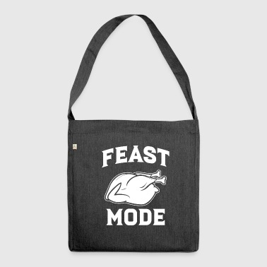 Feast Mode - Shoulder Bag made from recycled material
