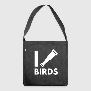 Birdwatching - Bird Watching - Birding - Shoulder Bag made from recycled material