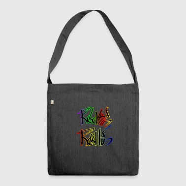 Rock n roll Punk Rock - Schultertasche aus Recycling-Material