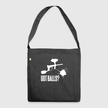 Paintball - Paintballer - Paint - Paintball weapon - Shoulder Bag made from recycled material