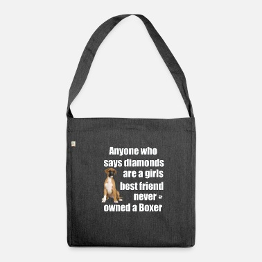 Boxer Boxer Dog - Borsa in materiale riciclato