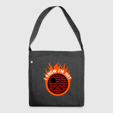 grilling - Shoulder Bag made from recycled material