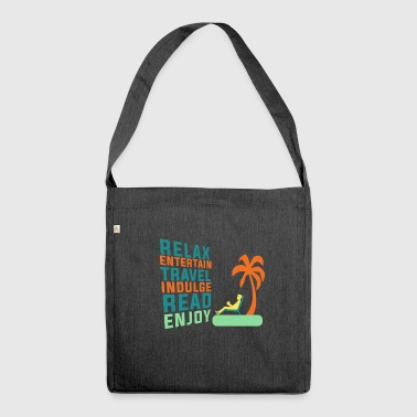 Classic Retirement Retire Retirement Relax - Shoulder Bag made from recycled material