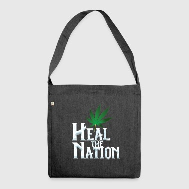 Heal the Nation - Shoulder Bag made from recycled material