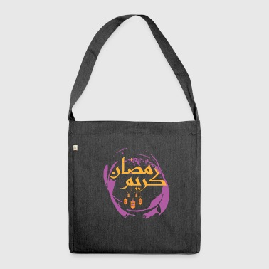 Ramadan kareem - Shoulder Bag made from recycled material