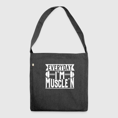 Fitness Gym - Shoulder Bag made from recycled material