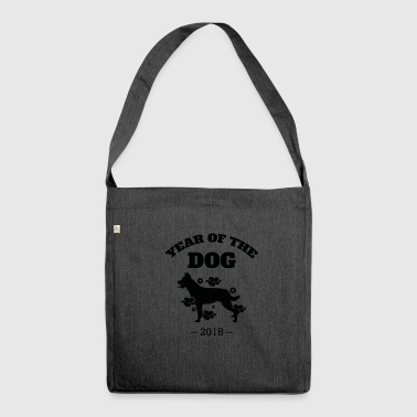 St.bernard Cool Year of The Dog 2018 Chinese New Year T-Shirt - Shoulder Bag made from recycled material