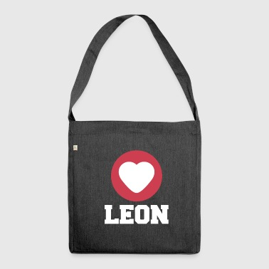 Leon - Schultertasche aus Recycling-Material