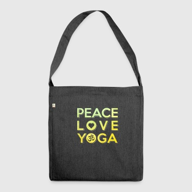 Yoga Peace Meditation Hatha Tantra Love - Shoulder Bag made from recycled material