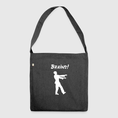 Zombies Zombieapokalypse Untote Monster Undead - Schultertasche aus Recycling-Material