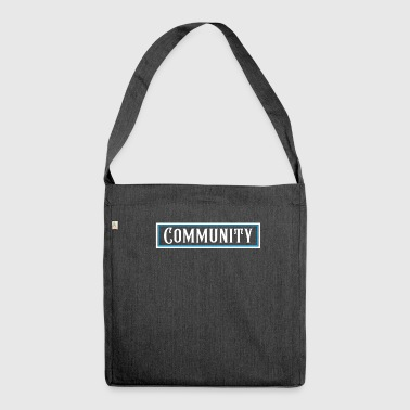Community - Schultertasche aus Recycling-Material