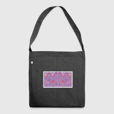 Flamingo group - Shoulder Bag made from recycled material