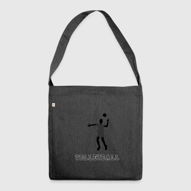 volley ball - Schultertasche aus Recycling-Material