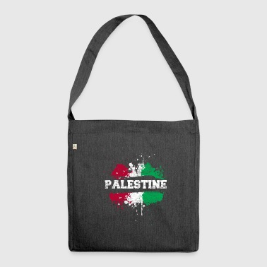 Palestine splatter - Shoulder Bag made from recycled material